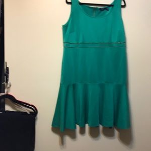 NWT eloquii green dresse